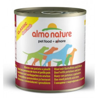 Almo Nature Home Made Adult Dog Beef with Potatoes and Peas 280 гр х 12 шт