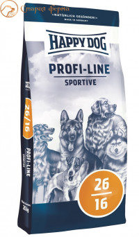 Happy Dog Profi-Line Sportive 26/16 20 кг