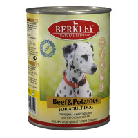 Berkley Adult Dog Beef & Potatoes 400 гр х 6 шт