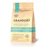 Grandorf Probiotic Indoor Adult 4Meat Brown Rice 400 гр