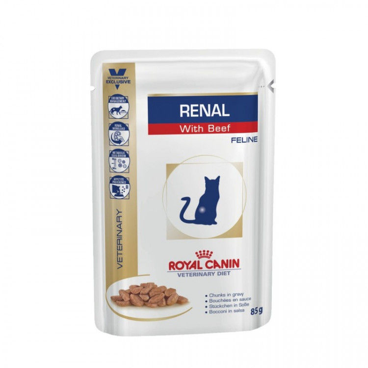 Royal Canin Renal feline with Beef pauch (0.085 кг)