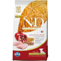 Farmina N&D Low Grain Dog Chicken & Pomegranate Puppy Mini - 2,5 кг
