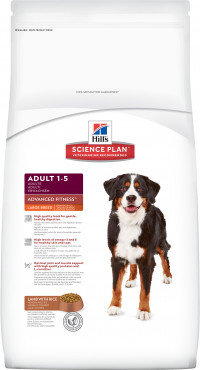 Hill's Science Plan (12 кг) Canine Adult Advanced Fitness Large Breed Lamb & Rice