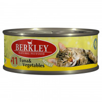 Berkley Adult Cat Tuna & Vegetables № 11 100 гр х 6 шт