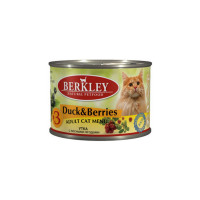 Berkley Adult Cat Menu Duck & Berries № 3 200 гр х 6 шт