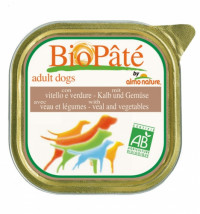 Almo Nature Daily Menu Adult Dog Bio Pate Veal&Vegetables 300 гр х 9 шт