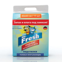 Mr. Fresh Regular 40 х 60 Подстилки 15 шт