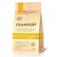 Grandorf Probiotic Sterilized Adult 4Meat Brown Rice 2 кг