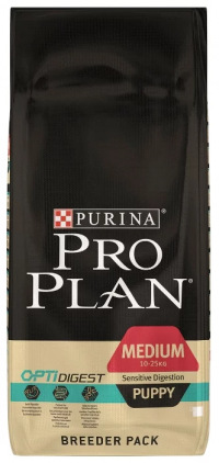 Pro Plan (18 кг) Medium Puppy сanine Sensitive Digestion Lamb with Rice dry