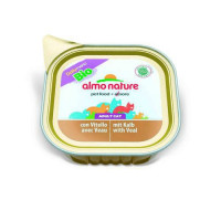 Almo Nature Daily Menu Bio Adult Cat Veal 100 гр х 32 шт