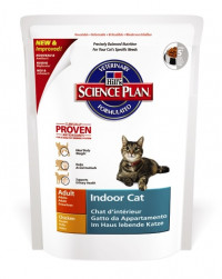 Hill's Science Plan Indoor Cat сухой корм для взрослых кошек, живущих в домашних условиях, с курицей - 300 гр