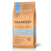 Grandorf Adult all breeds White Fish Rice 12 кг