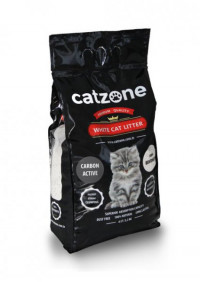 Наполнитель для кошачьего туалета Catzone Active Carbon - 10 кг
