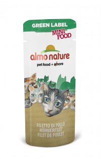 Almo Nature Green Label Cat Mini Food Chicken Fillet 3 г х 100 шт