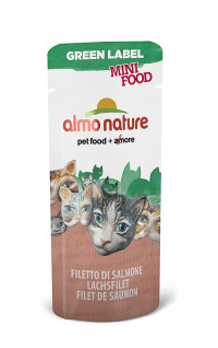Almo Nature Green Label Mini Food Salmon Fillet 3 г х 100 шт