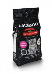 Наполнитель для кошачьего туалета Catzone Baby Powder 5.2 кг