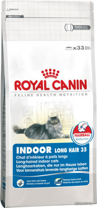 Royal Canin Indoor Long Hair 35 2 кг