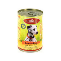 Berkley Adult Dog Lamb & Rice 400 гр х 6 шт