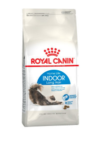 Royal Canin Indoor Long Hair сухой корм для домашних длинношерстных кошек - 10 кг