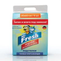 Mr. Fresh Regular 90 х 60 Подстилки 8 шт