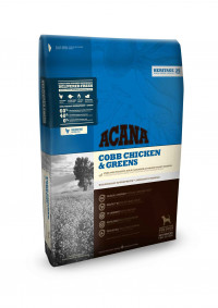 Acana Heritage Cobb Chicken & Greens - 2 кг