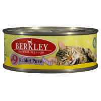 Berkley Adult Cat Rabbit Pure № 9 100 гр х 6 шт