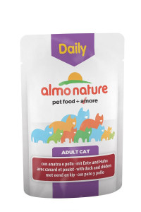 Almo Nature Daily Menu Adult Cat Chicken & Duck 70 гр х 30 шт