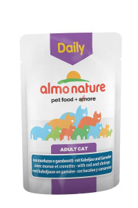 Almo Nature Daily Menu Adult Cat Cod & Shrimps 70 гр х 30 шт