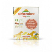 Almo Nature Daily Menu Adult Dog Tuna&Salmon Tetrapack консервы в тетрапаке для взрослых собак с тунцом и лососем - 375 г