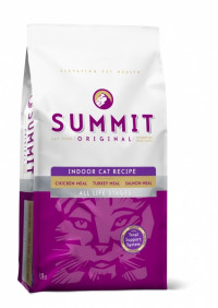 Summit Holistic Original 3 Meat, Indoor Cat Recipe CF сухой корм холистик с цыпленком, лососем и индейкой для домашних котят и кошек - 6.8 кг